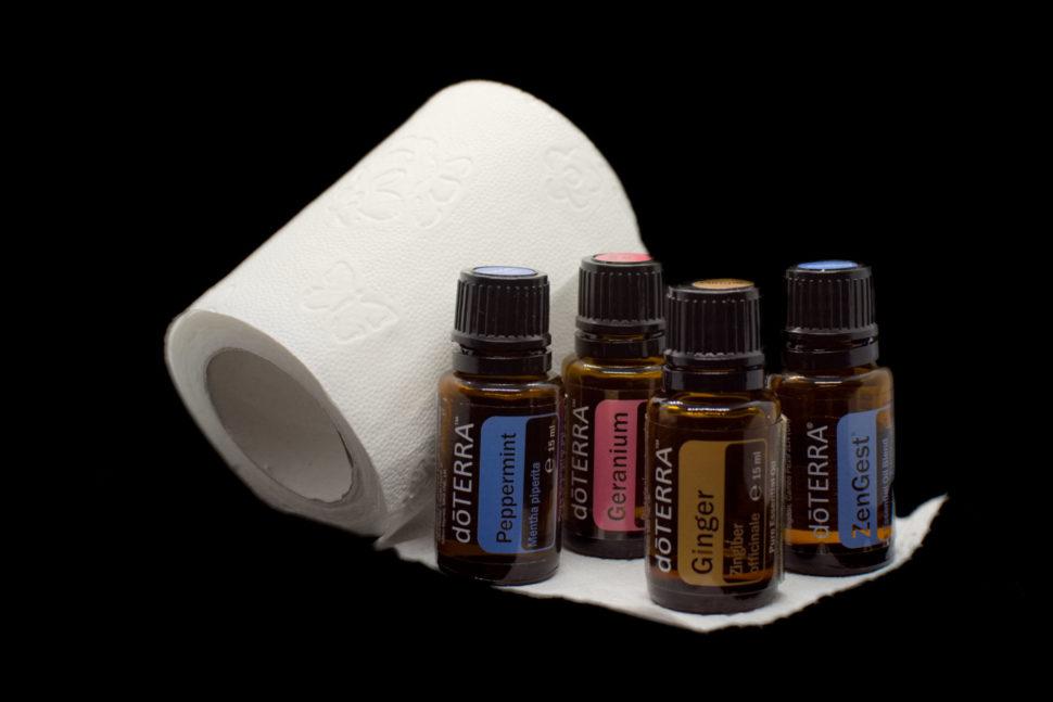 Esenciálne oleje doTERRA na riešenie črevných problémov.