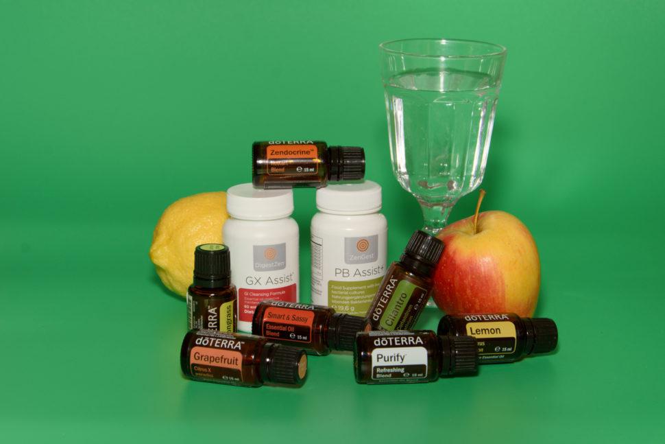 Detox, esenciálne oleje doTERRA, očista organizmu